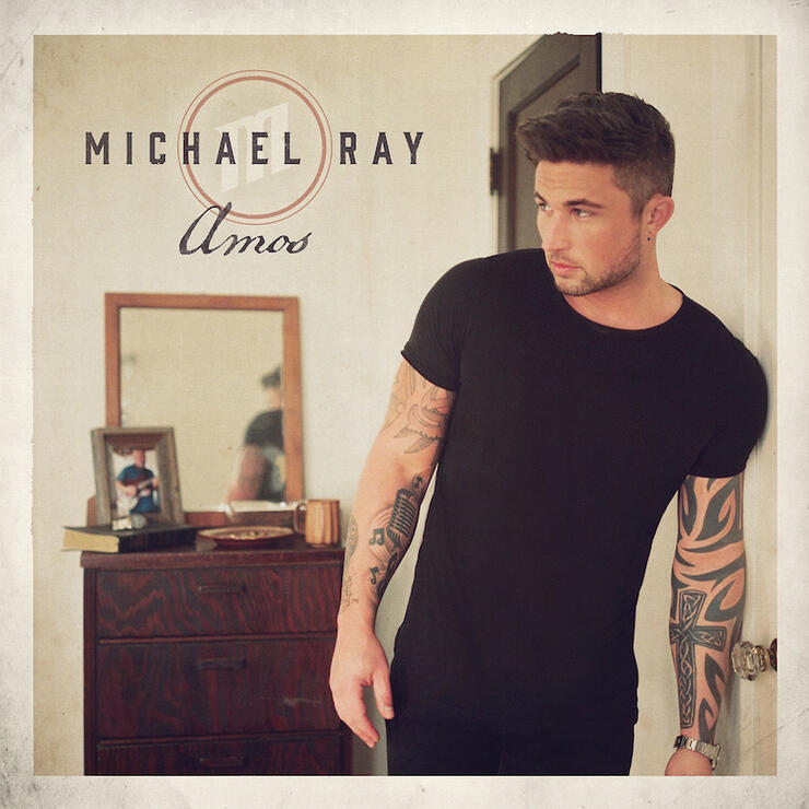 Michael Ray - 'Amos' Album Cover Art