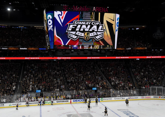 Vegas Golden Knights Stanley Cup Final Game 1