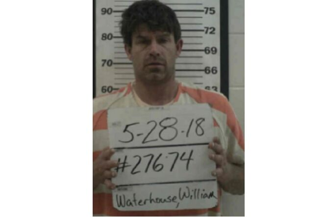 William Waterhouse photo from Jasper County Jail