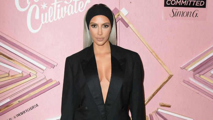 Kim Kardashian Praises 'Brave' Daughter Chicago For Playing With A Snake | iHeartRadio