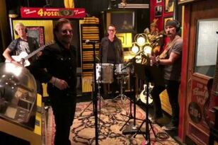 U2 Unplugged at Jack White's Third Man Records