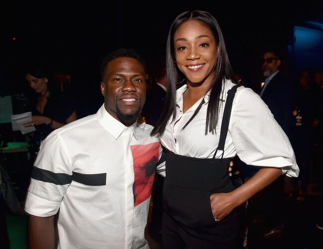 Tiffany Haddish Kevin Hart -photo:Getty Images North America