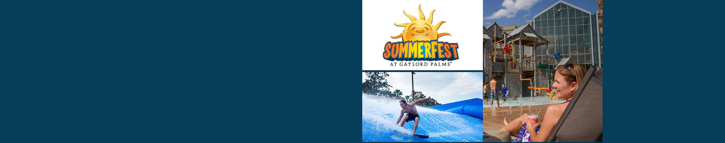 Win a Vacation Package to Gaylord Palms Orlando SummerFest