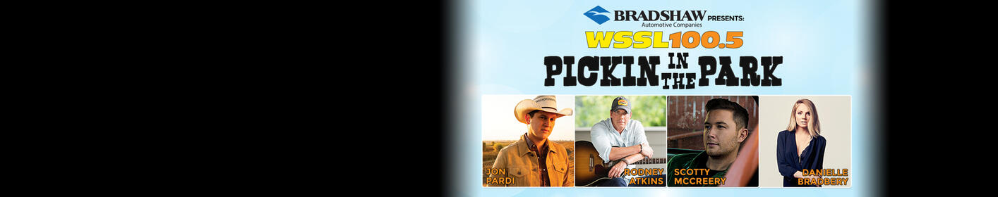 Pickin' in the Park is coming up July 17!