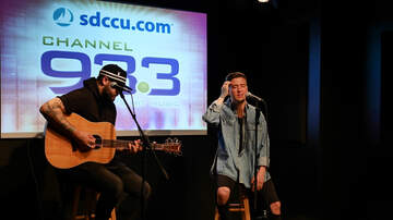 Ethan Cole - Logan Henderson at Channel 933 SDCCU Red Carpet Room