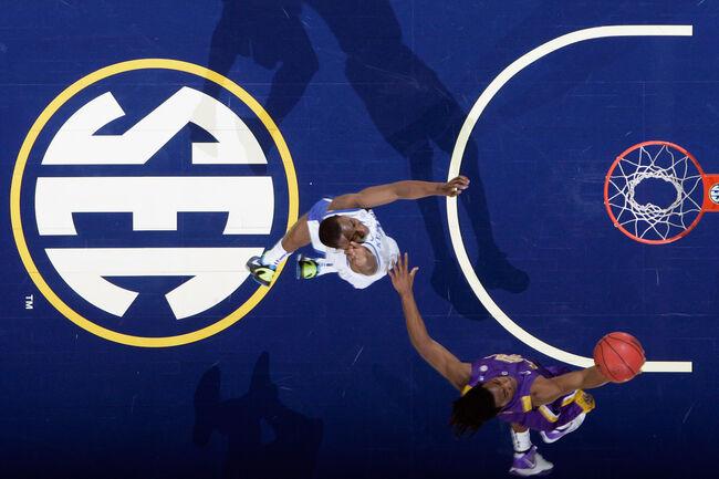 LSU Basketball Getty