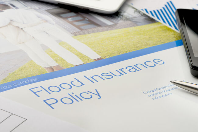 Flood Insurance Getty RF