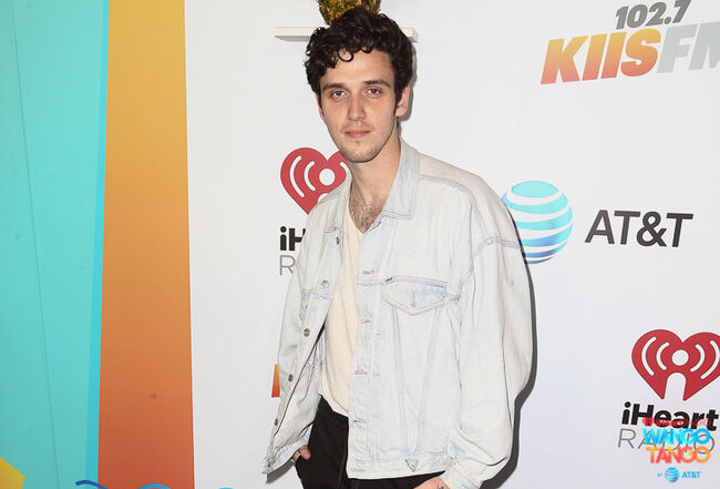 Lauv arrives at the 2018 iHeartRadio Wango Tango by AT&T at Banc of California Stadium on June 2, 2018 in Los Angeles, California