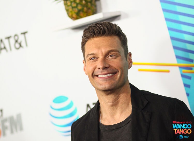 Ryan Seacrest arrives at the 2018 iHeartRadio Wango Tango by AT&T at Banc of California Stadium on June 2, 2018 in Los Angeles, California.