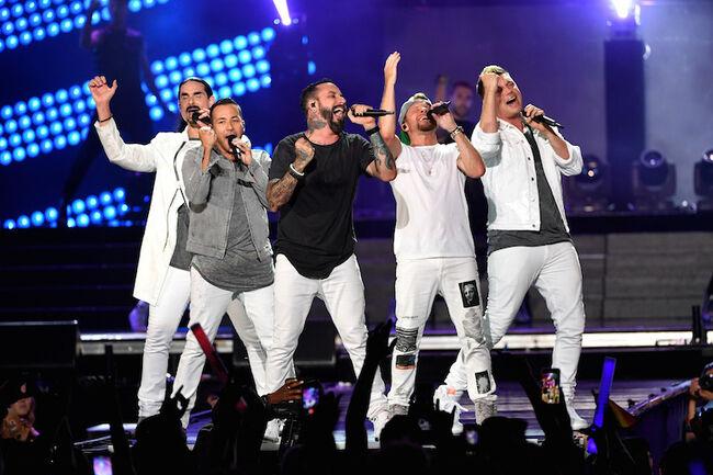 Backstreet Boys 2018 iHeartRadio Wango Tango