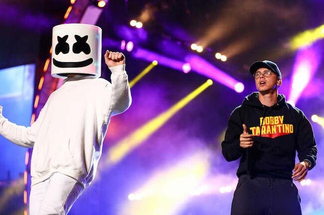 Marshmello, Logic 2018 iHeartRadio Wango Tango