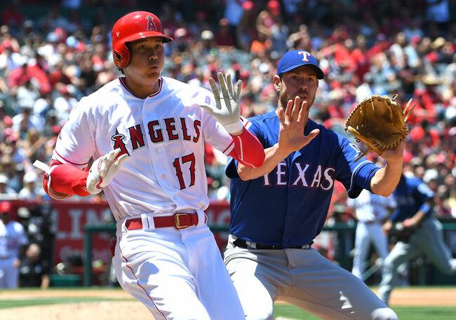 Rangers vs. Angels