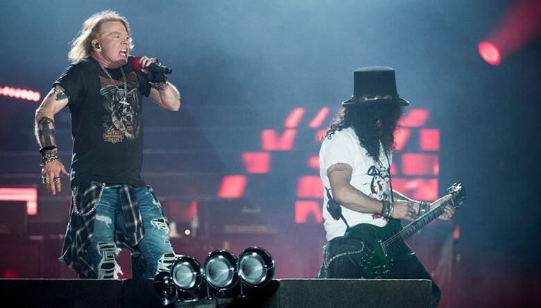 """Watch Guns N' Roses Perform Velvet Revolver's """"Slither"""" in Europe"""