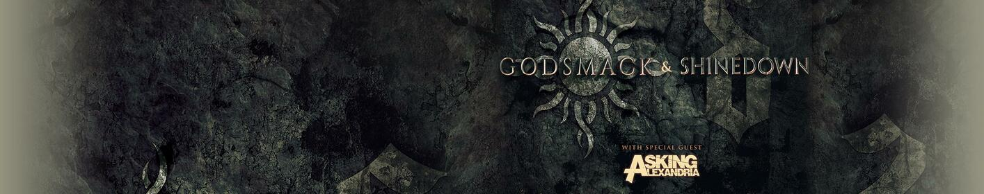 105.7 Man Up Presents Godsmack and Shinedown in Greensboro this Fall!