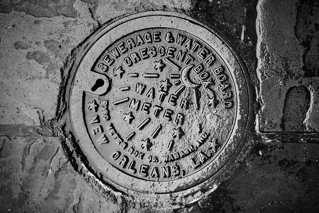 New Orleans Water Meter Getty RF