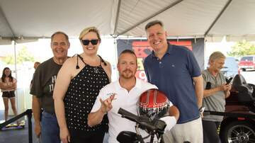 Photos - See Who Won Our Hands On A Harley Contest!