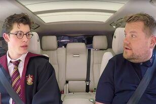 Shawn Mendes Flaunts His Harry Potter Stan Card During 'Carpool Karaoke'