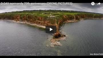 Tony TNT Tilford - D-Day  Drone Footage of Normandy