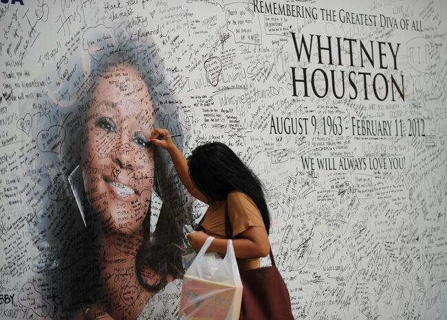 Whitney Houston-photo:AFP