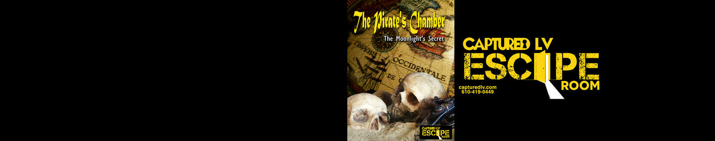 Try the Pirate's Chamber Escape Room with Mike & Steph!
