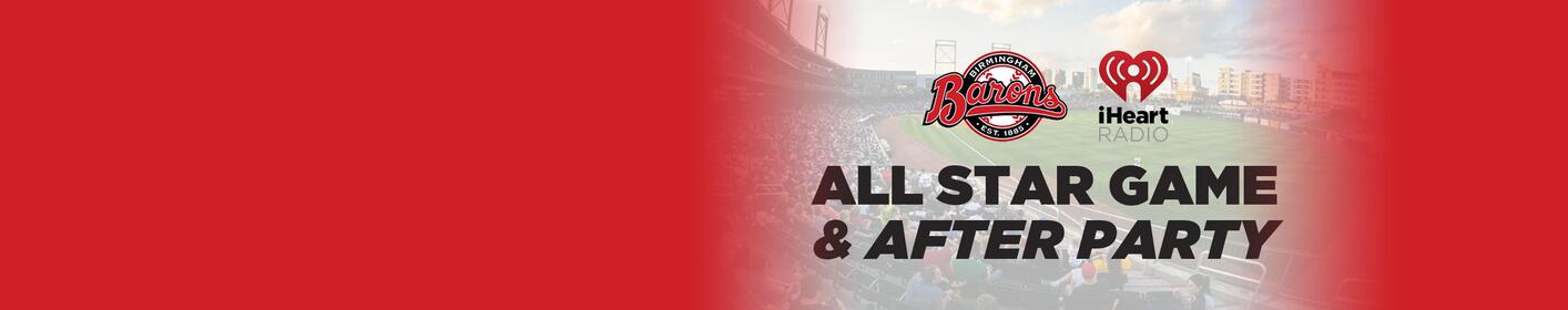 Make plans to attend the All Star Game and After Party at Regions Field!