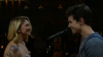 MostRequestedLive - Shawn Mendes & Julia Michaels Deliver Intimate 'Like To Be You' Performance