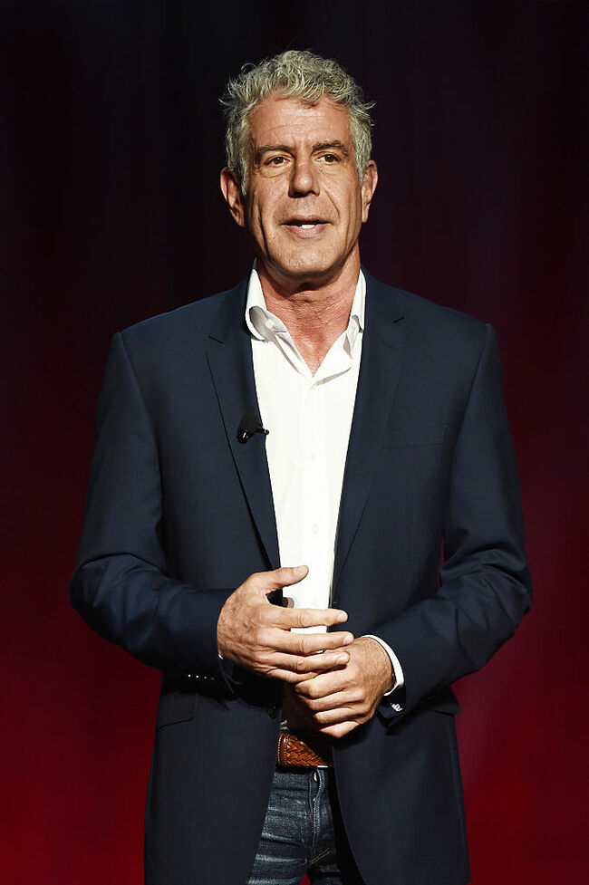 Anthony Bourdain - Getty Images