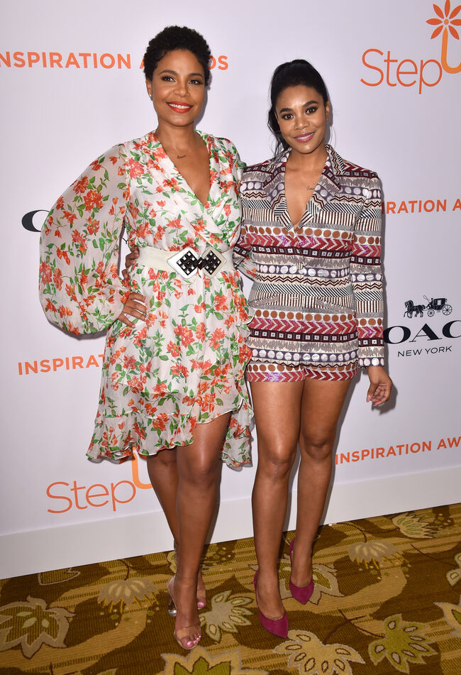 Sanaa and Regina-Step Up's 14th Annual Inspiration Awards