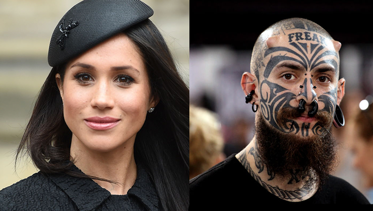 Meghan Markle Inspires A New Trend In Face Tattoos Iheartradio