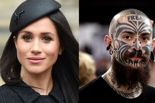 Meghan Markle Inspires A New Trend In Face Tattoos