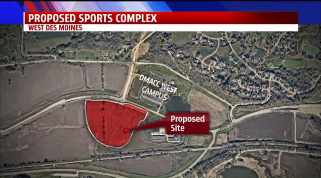 25000000 Sports Complex Planned In West Des Moines 1040 Who