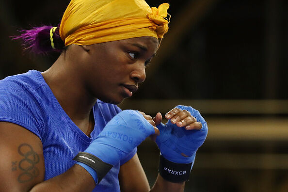 Claressa Shields Open Workout. Getty Images