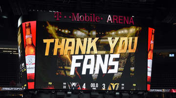 Vegas Golden Knights - Thank You Vegas Golden Knights For An Incredible Inaugural Season