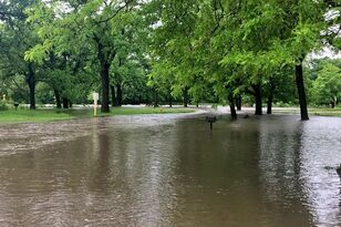 "5-6"" rain, flooding in parts of Iowa, more coming VIDEO PHOTOS"