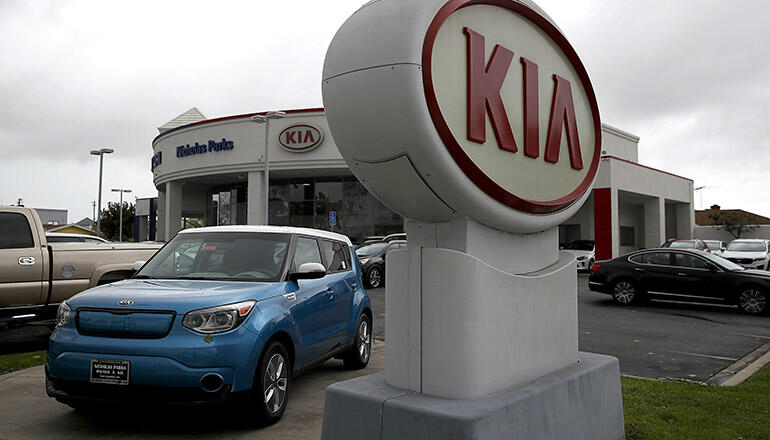 Kia recalls over 500 000 vehicles over airbag flaw for Kia motors pay bill