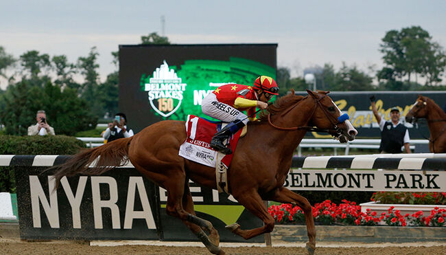 justify belmont  stakes