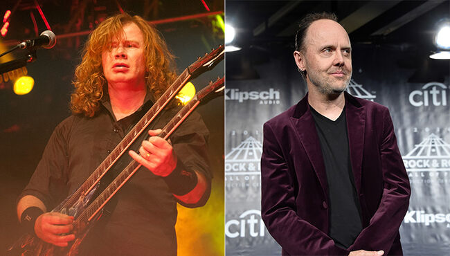 Dave Mustaine Has More Fighting Words for Lars Ulrich