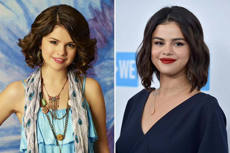 Then Now 20 Disney Channel Stars Iheartradio