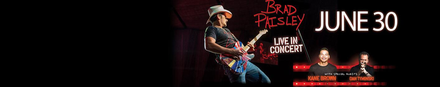 Win tickets to see Brad Paisley