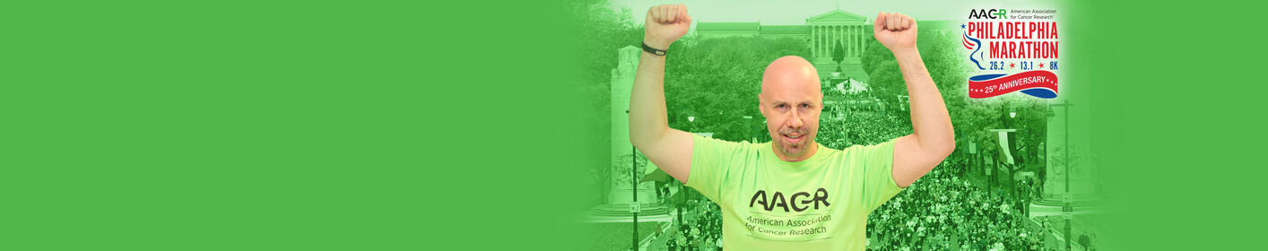 Calling Runners + Walkers! Team up w/Johnny & AACR Runners for Research for Philadelphia Marathon Weekend