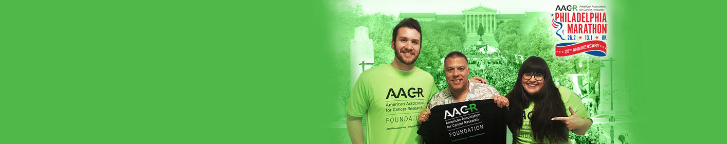 Walkers + Runners! 11/16-18 Team up w/Chio, the staff of the new REAL 106.1 & AACR Runners for Research for the Philadelphia Marathon Weekend