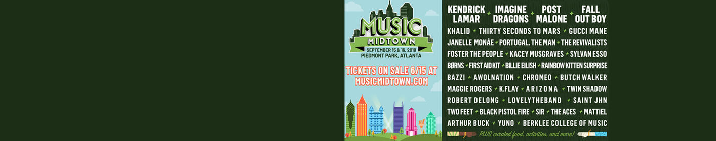 Listen To Win Music Midtown Tickets At 6PM, 7PM, 8PM, 9PM, 10PM & 11PM On Power 96.1!