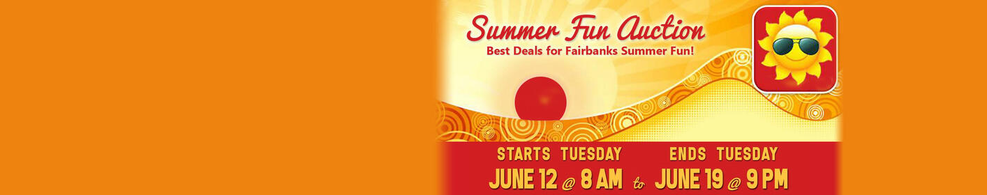 Check Out All the Super Deals at Our Summer Fun Online Auction >