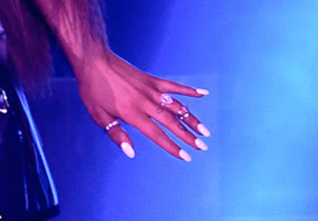 Ariana Grande Engagement Ring