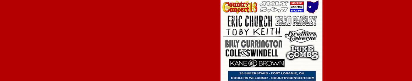 Enter To Win A 3 Day Pass To Country Concert