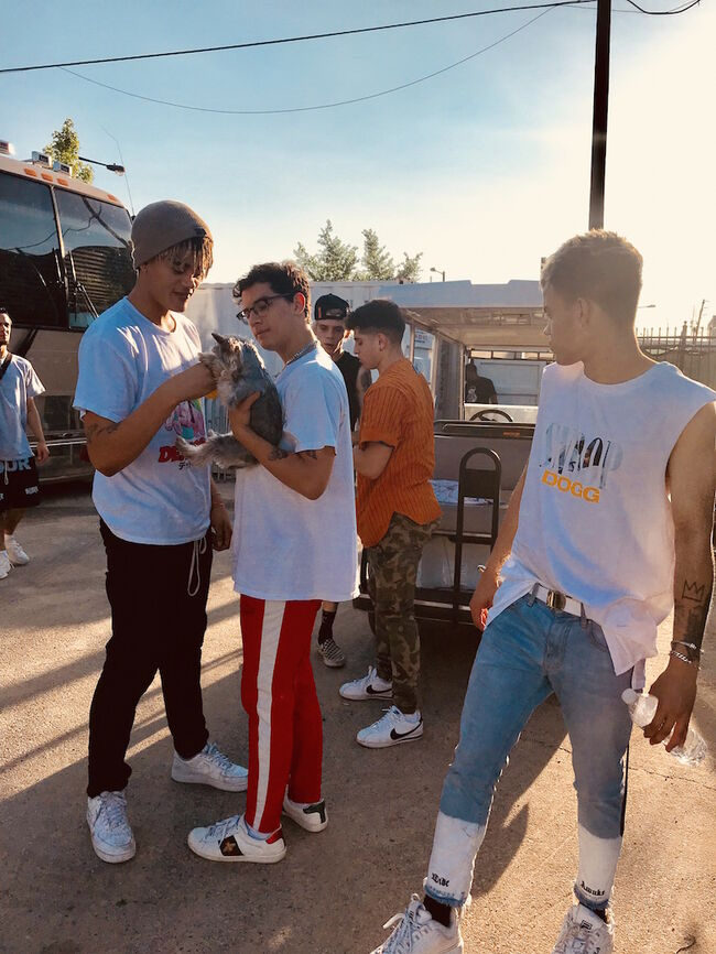 PRETTYMUCH on tour