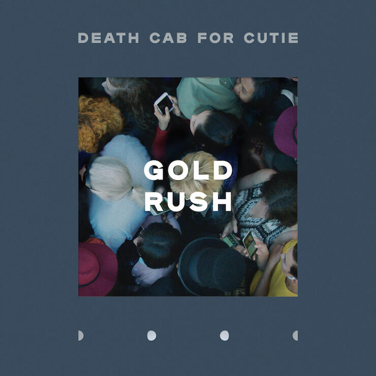 """Death Cab For Cutie - """"Gold Rush"""" Single Cover Art"""