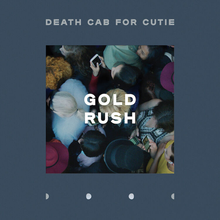 "Death Cab For Cutie - ""Gold Rush"" Single Cover Art"