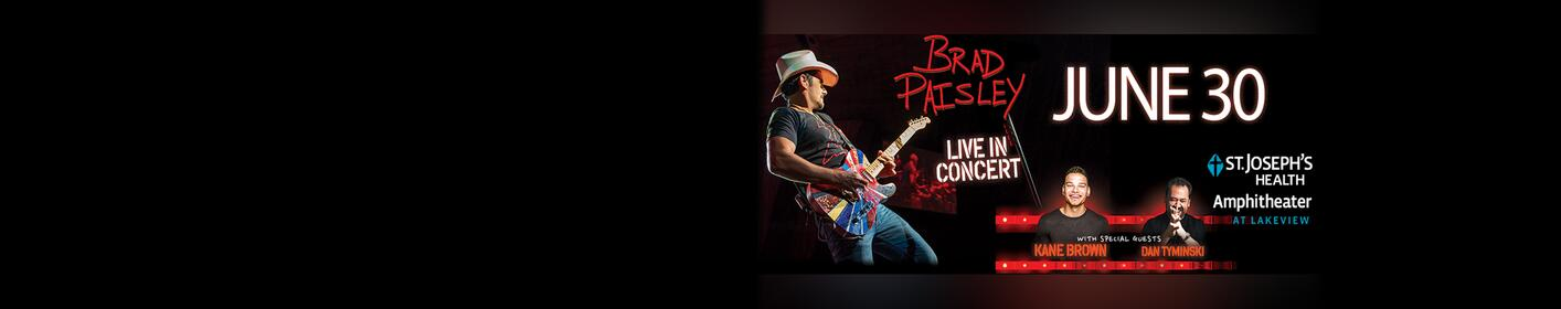 COUPLES CONTEST: Win tickets and a Meet & Greet with Brad Paisley!