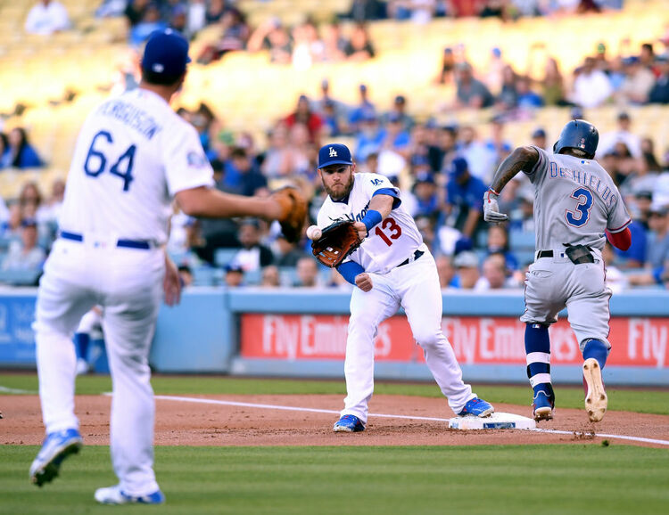 Rangers vs. Dodgers